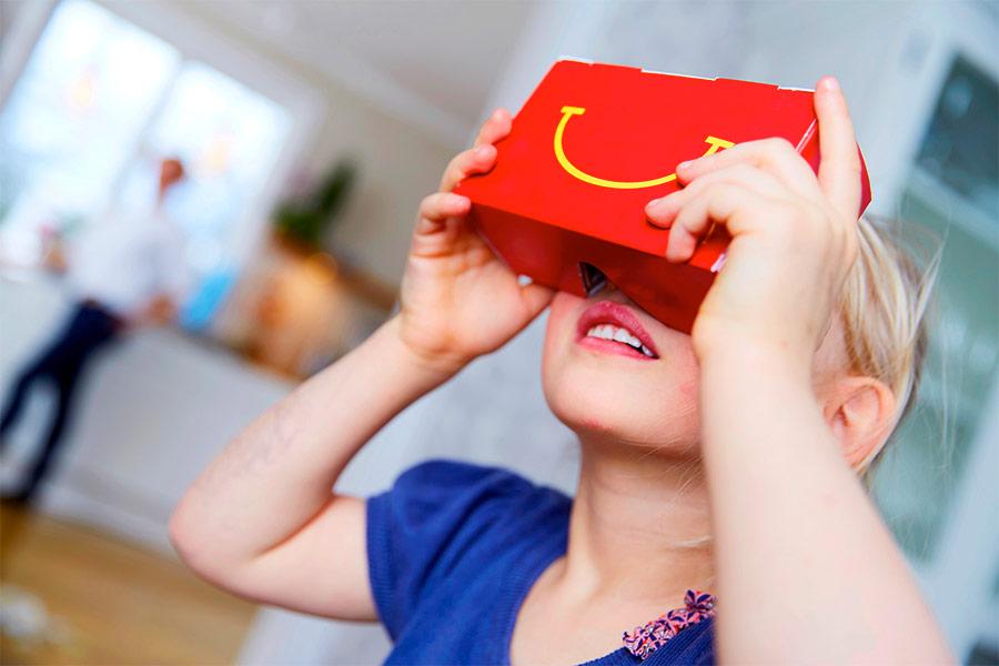 Mc Donalds realidad virtual