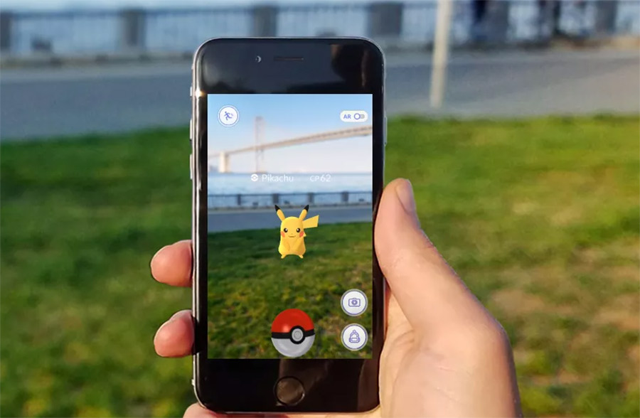 realidad aumentada pokemon go